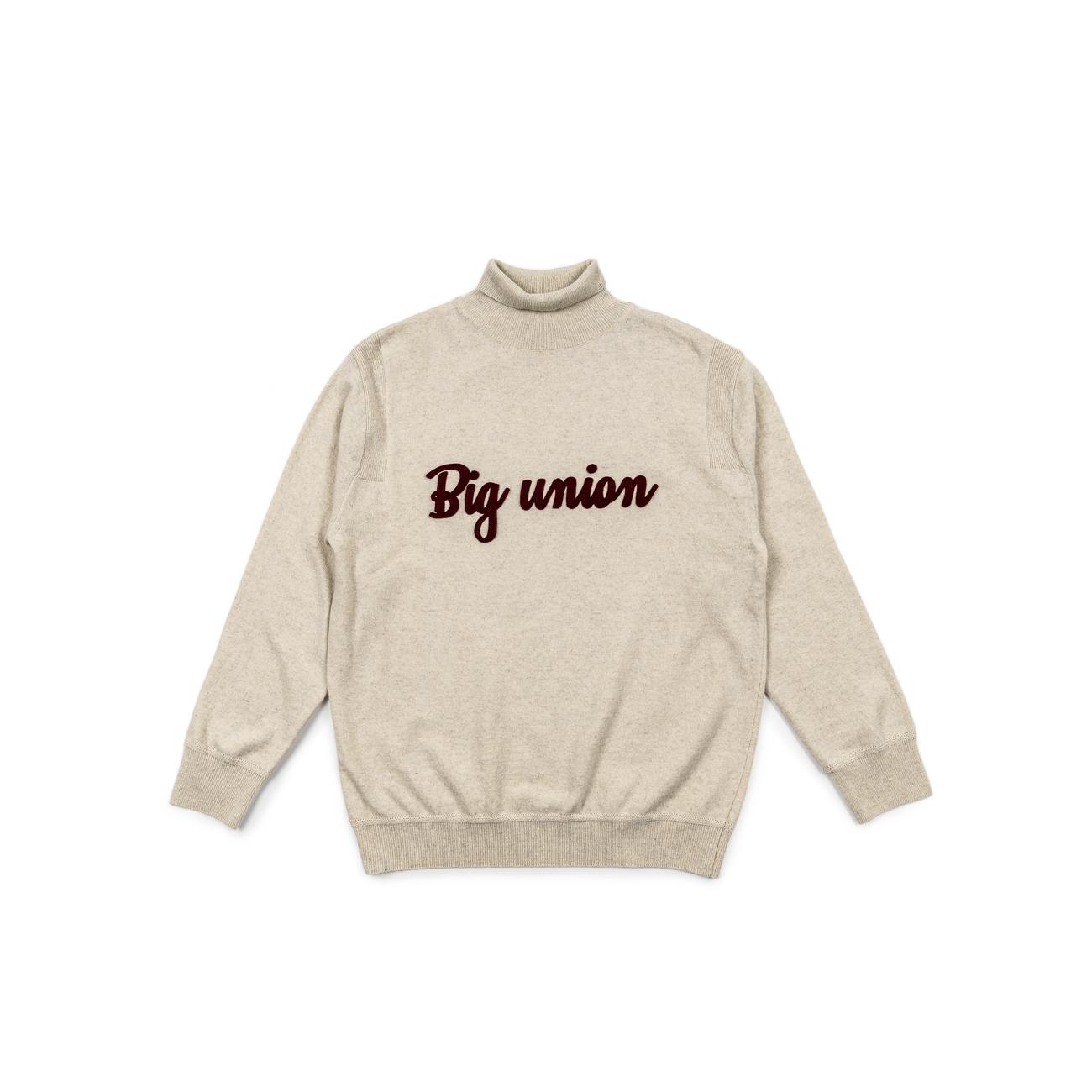 Classic Logo Turtle Neck Knit
