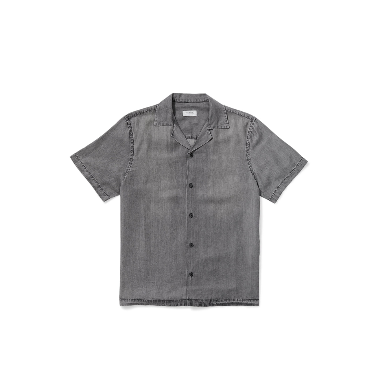 Canty Denim Tencel Short Sleeve Shirt