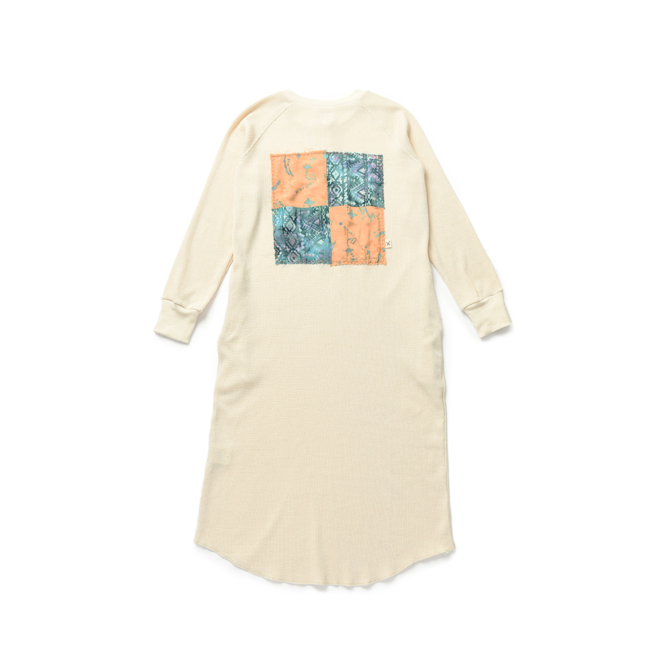 Patchwork Waffle Onepiece